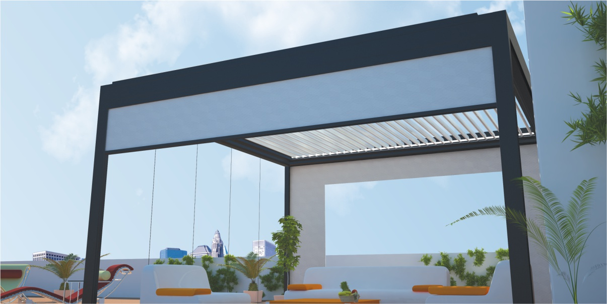WINDSTOR Wind-Proof Vertical Awning