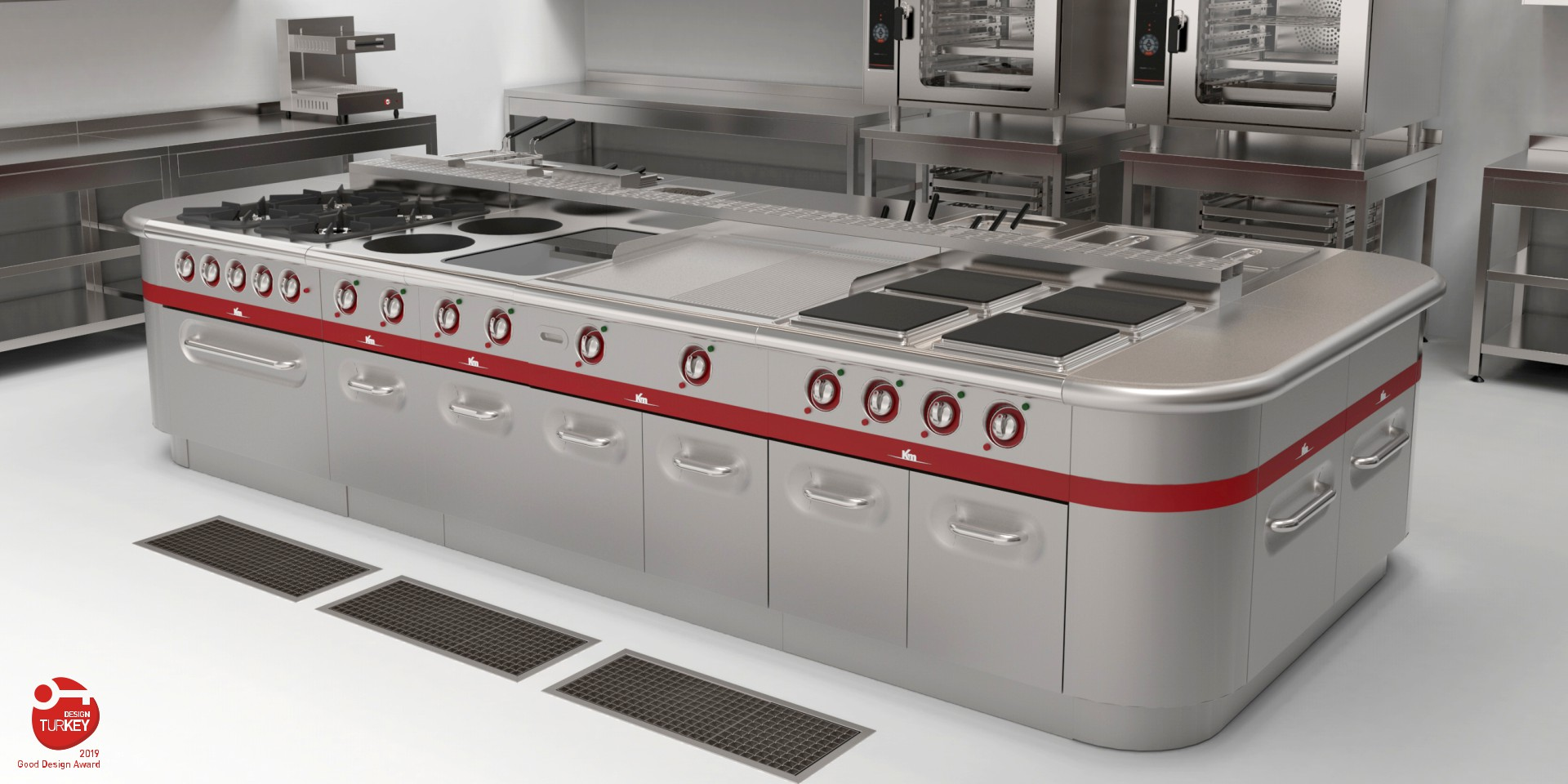 POLE Industrial Cooking Line
